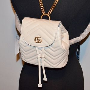 Handbags - GUCCI MARMONT LEATHER MINI BACKPACK $1980